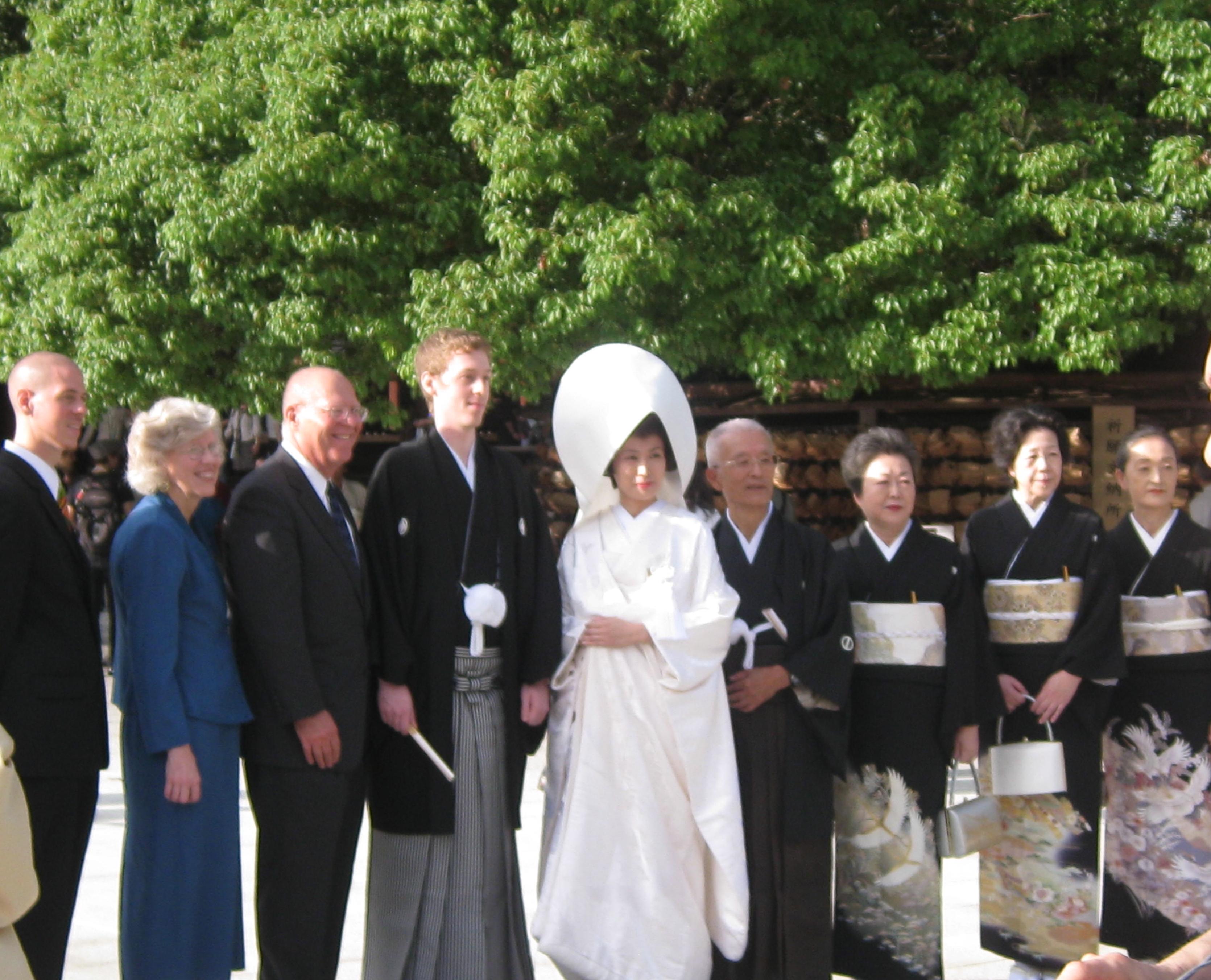 Shinto wedding dress