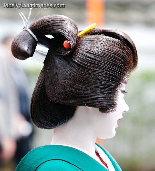 Real Geisha Hair Tutorial - YouTube